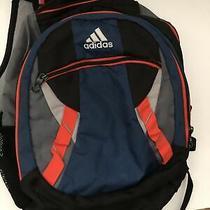 Adidas Load Spring Backpack Large Blue/orange/grey Photo