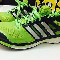 Adidas Men Running Supernova Glide 6 Boost Shoes Size 10 Photo