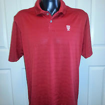 Adidas Men's  Climacool Size Xl Golf Polo (Red)