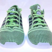 Adidas Men's Element Refine Tricot Running Shoe Green/black Size 10 M Us Photo