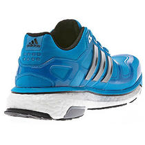 Adidas Men's Energy Boost 2.0 Running Shoes - Solar Blue - 8 Photo