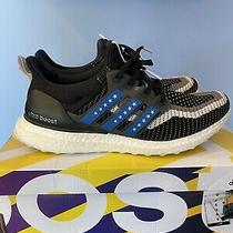 Adidas Men's Ultraboost City Running Sneakers Woven Black Blue Red Size 8.5 Photo