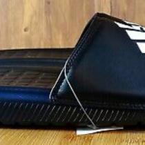 Adidas Men's Voloomix Slide Sandal Black/white/black Size 13 Photo