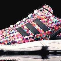 Adidas Men's Zx Flux Limited 8000 Ed Graphics Sneakers M19845 Prism Multi Color  Photo