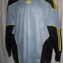 Adidas Mens Gray Protective Arms Shirt Black Yellow Arms Medium Auto Racing Bike Photo
