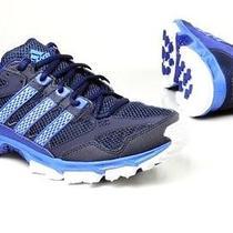 Adidas Mens Kanadia 5 Tr Trail Course Running Shoesblack/bluesize-10.5nwt Photo