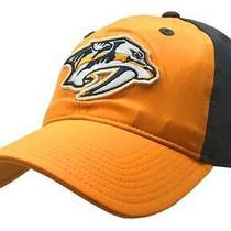 Adidas Mens Nashville Predators Coach Flex Fit Hat Baseball Cap Hnl Hockey Sizes Photo