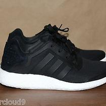 Adidas Mens Pure Boost Black Size 8.5 Excellent Priority Mail  Photo