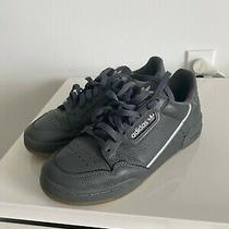 Adidas Mens Sneakers Size 7 Continental 80 Gray Mint Leather  Lifestyle G27705 Photo