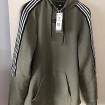 Adidas Mens Sweater Army Green Size  Medium Pullover 55 New Style Photo