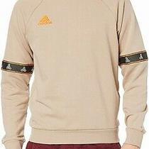 Adidas Mens Sweatshirt Beige Size 2xl Tango French Terry Crewneck 80 084 Photo
