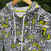 Adidas Mens Xxl 2xl Funky Lightning Bolt Cool Hoodie Hooded Jacket Sweatshirt Photo