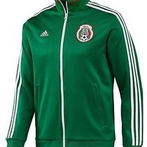 Adidas Mexico 2014 Authentic Soccer Track Top Jacket Green - Medium - Free Ship Photo