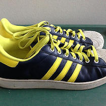 Adidas Mi Custom Basketball Shoes Mens Size 14 Very Rare Sneakers Yellow Stripes Photo