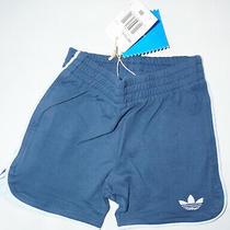 Adidas Navy Blue Baby Shorts Size 6m New Photo