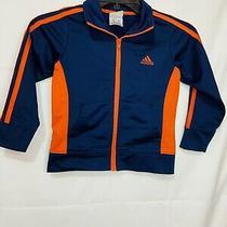 Adidas Navy Blue Kids Jacket Size 4t                  Photo
