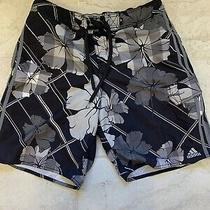 Adidas Nylon Mens Board Shorts Size 34 Excellent Photo