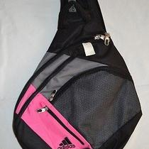 Adidas One Shoulder Sling Backpack Adjustable Strap School Kids Girls Travel Bag Photo