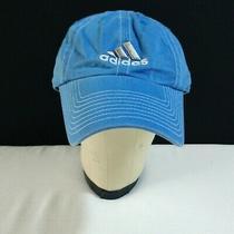Adidas One Size Os Unisex Blue Logo Cap Baseball Hat Adjustable Cotton Photo