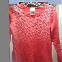 Adidas Orange Athletic Workout Running Top - Small Photo