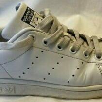 Adidas Original Stan Smith Men's Tennis Shoes M20325 White Black Sneakers Sz 5 Photo