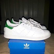 Adidas Original Stan Smith White/green Size 9 Photo
