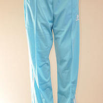 Adidas Originals Adicolor Firebird Track Pant Light Aqua White Xl Photo