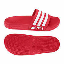 Adidas Originals Bath Slippers Adilette Shower Aq1705 Red Photo