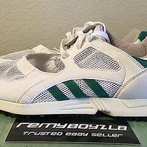 Adidas Originals Eqt Racing Og White Green Womens Sz 8.5 Trainers Retro Running Photo