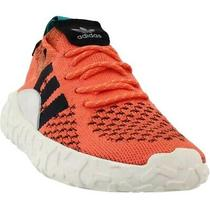 Adidas Originals Mens Boys F/22 Primeknit Sneakers Orange Black Size 7 New Photo
