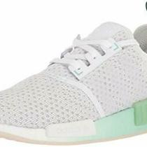Adidas Originals Men's Nmdr1 Sneaker White/white/blush Green Size 10.5 Nst1 Photo