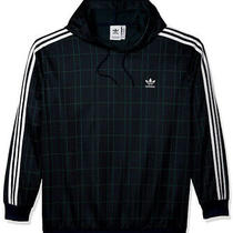 Adidas - Originals Men's Tartan Small Hoodie (Multicolor/collegiate Navy) Photo