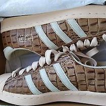Adidas Originals Pro Model Vin Croc Skin Sz 8.5 Rare Vtg Stan Smith Superstar Photo