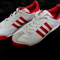 Adidas Originals Samoa Women's Sneakers White/ Red Size 6.5(us) Photo