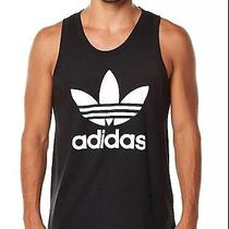 Adidas Originals Trefoil Black Tank Top Men's Sz M Medium Sleeveless Shirt Nwt Photo