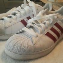 Adidas Originals...wht/maroon Photo