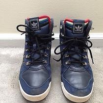 Adidas Originals Winter Ball Blue Leather Boots Primaloft Insulation Men's  Us 7 Photo