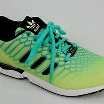 Adidas Originals Zx Flux Mens Running Shoes Xeno Green Yellow Black Aq8212 Sz 9 Photo