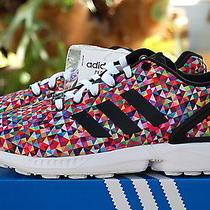 Adidas Originals Zx Flux Prism Multi (M19845) Boost Size 8.5 Photo