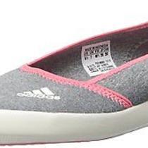 Adidas Outdoor Women's Boat Slip-on Sleek Med Grey/white/blush Water Shoe 7m Photo