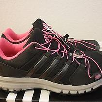 Adidas Outdoor Womens Duramo Cross Trail Running Shoes New Size 9 Black  Photo