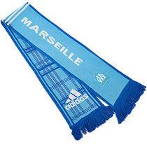 Adidas Performance Official Olympique De Marseille Soccer Club Scarf - Blue Photo