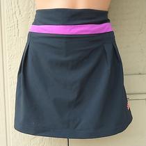 Adidas Performance Sz Xl Black & Pink Running Skort Climalite Athletic Wear Nwt  Photo