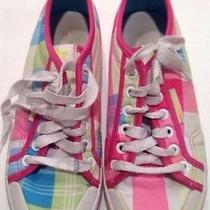 Adidas Plaid Tennis Shoes - Fun Photo