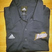Adidas Polo Shirt Nwot Los Angeles D-Fenders Ss Black  Size 48 Photo