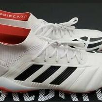 Adidas Predator 19.1 25 Yr Fg Soccer Cleats Boots Mania Beckham White-Black-Red Photo