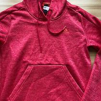 Adidas Red Thermal Hoodie Ladies Xs  Photo