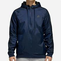 Adidas Reversible Heavyweight Jacket Mens Size Small Navy Black Photo