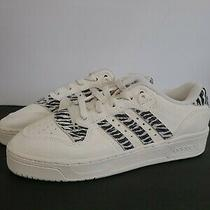 Adidas Rivalry Low (Womens Size 8) Leather Sneakers Athletic Casual Shoe Photo
