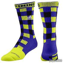 Adidas Robert Griffin 3 Rgiii Griffining Football Socks 5129574 Purple l(9.5-12) Photo